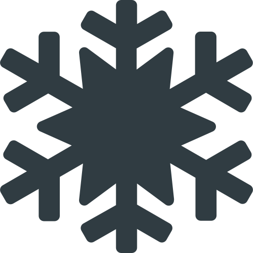christmas, snowflake, weather, winter icon