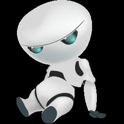 automatic, automatic machine, automaton, machine, machine gun, robot, sad, shadow, with icon
