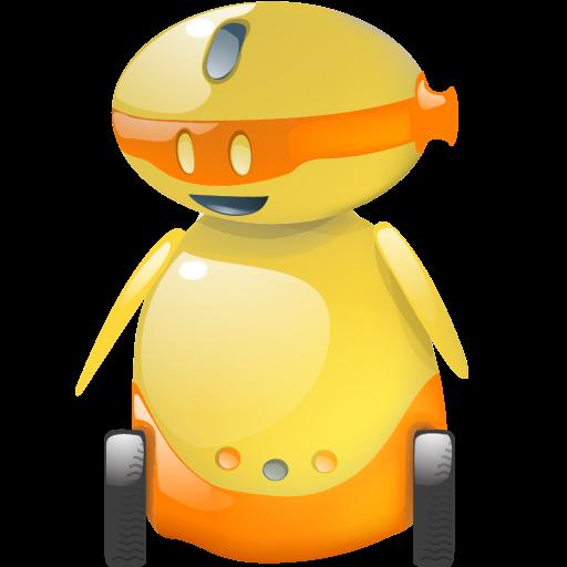 automatic, automatic machine, automaton, happy, machine, machine gun, robot icon