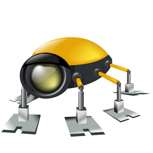 automatic, automatic machine, automaton, bug, flier, flyer, hexapod, insect, machine, machine gun, robot icon