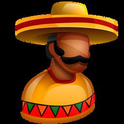 america, american, boss, chief, hat, latin, latinos, mexican, mexico, sombrero, south icon