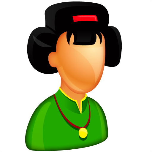 asian, boss, china, chinese, female, femine, girl, japan, japanese, lady, woman icon
