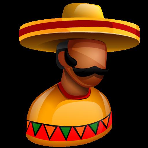 Mexican, boss, latinos, mexico, sombrero, american, chief icon - Free download
