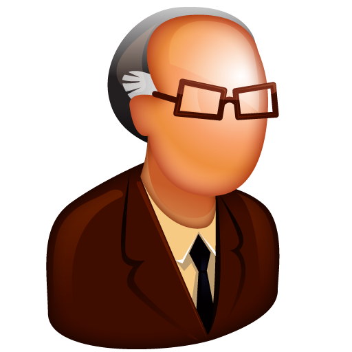 boss, business, chief, father, glasses, grand, grandfather, man, old, retired, retiree, spectacles, supervisor, uncle icon