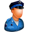 guard, officer, police, police officer, police-officer, policeman, protection, security, shield icon