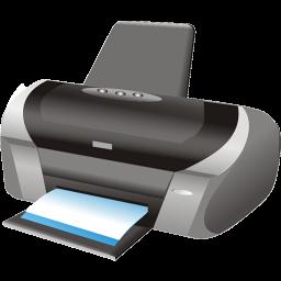 printer, symbol icon