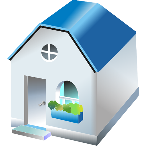 building, construction, crib, door, dwelling, edifice, fabric, home, house, one, premises, storied, structure icon