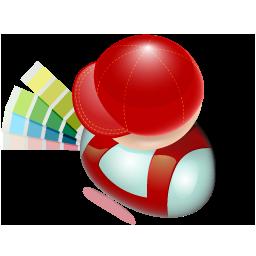 constructor, decorator, designer, meccano, mechanician, millwright, planner, projector, scene-designer, scene-painter icon