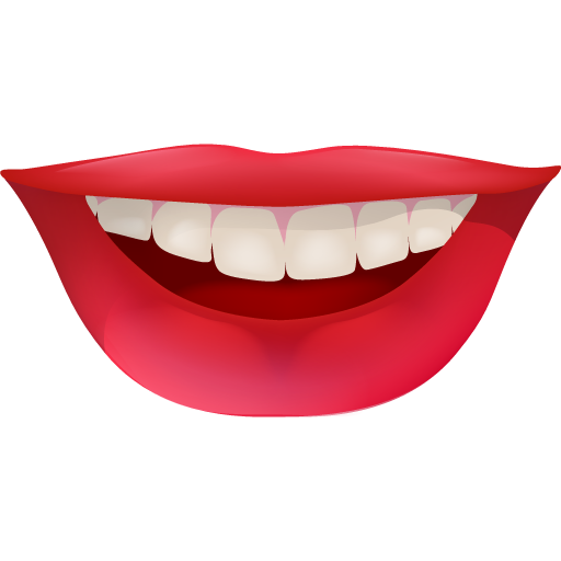 Funny, happy, hollywood, lips, red, smile, smiley, teeth ...