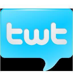 bird, bubble, chat, logo, social, social media, tweet, twitter, twt icon