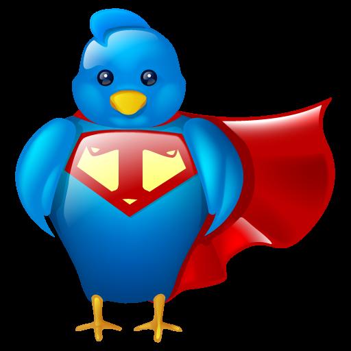 bird, hero, logo, social, social media, super, tweet, twitter icon