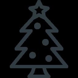 christmas, ornament, pine, star, tree icon