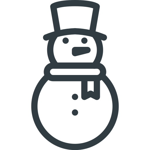 christmas, play, snowman, winter icon