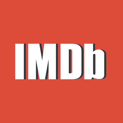 imdb, movie, red icon