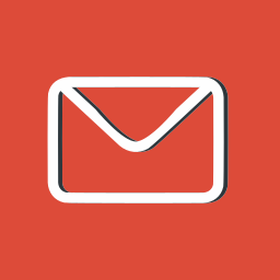 envelope, envelopes, interface, mail, mails, message, red icon