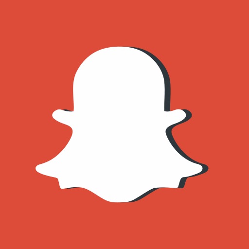 logo, media, networking, photo, red, snapchat, social icon