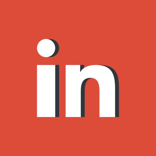 linkedin, logo, logotype, network, social media icon