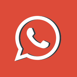 logotype, message, network, red, social media, whatsapp icon