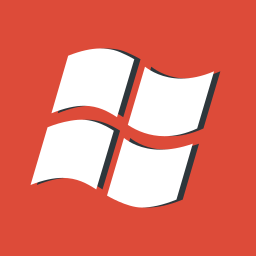 logo, os, red, windows icon