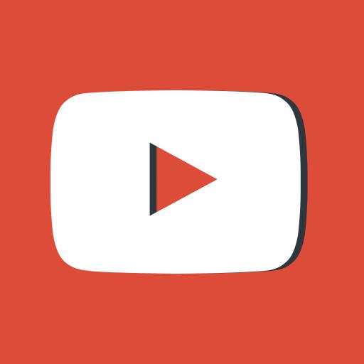 logo, logotype, media, network, social, youtube icon