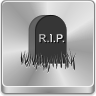cemetery, dead, death, end, enemy, final, finish, grave, gravestone, halloween, rest, result, rip, skull, stone, tombstone, weighty icon