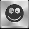 accept, emoticon, face, good, green, happy, hello, hollywood, ok, smile, smiley, thanks, tick, yes icon