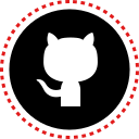 github, media, social, stitches icon