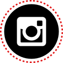 instagram, media, social, stitches icon