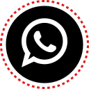 media, social, stitches, whatsapp icon