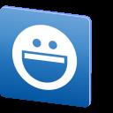 social media, media, yahoo, messenger, social, logo, chat