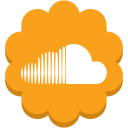 flower, media, music, round, social, soundcloud icon