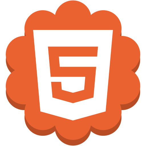 flower, html5, internet, media, round, social, web icon