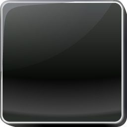 black, button icon
