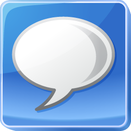 about, bubble, bulb, chat, comment, comments, google, hint, idea, info, information, light, message, speech, talk, tip icon