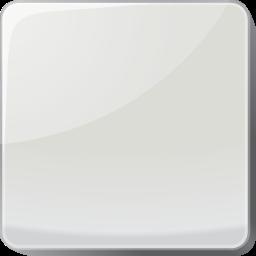 button, silver icon