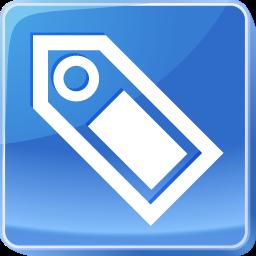 attach, attachement, caption, jetton, label, name, slug, surname, tag, tally, title, token icon