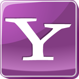 logo, media, search engine, social, social media, square, yahoo icon