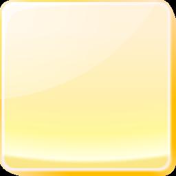button, yellow icon