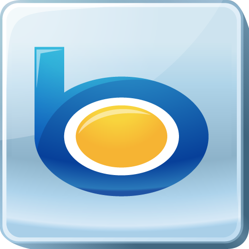 bing, logo, media, search engine, social, social media, square icon