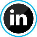 corporate, linkedin, logo, media, social icon