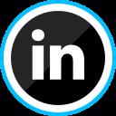 corporate, linkedin, logo, media, social icon