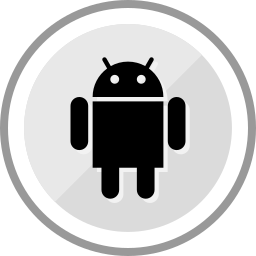 android, corporate, logo, media, social icon
