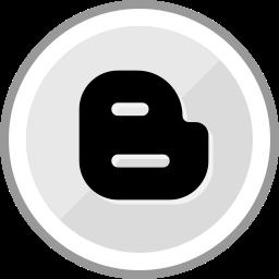 blogger, corporate, logo, media, social icon