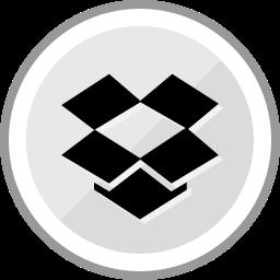corporate, dropbox, logo, media, social icon