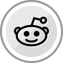 corporate, logo, media, reddit, social icon