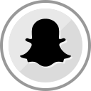 corporate, logo, media, snapchat, social icon