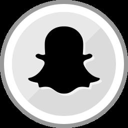corporate, logo, media, snapchat, social icon