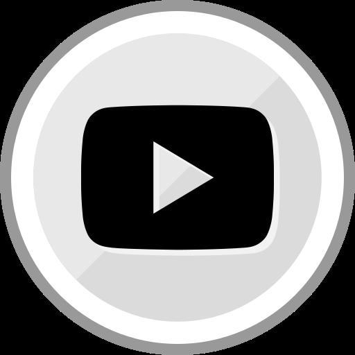 corporate, logo, media, play, social, youtube icon