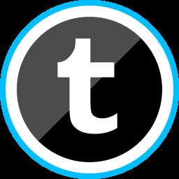 corporate, logo, media, social, tumblr icon