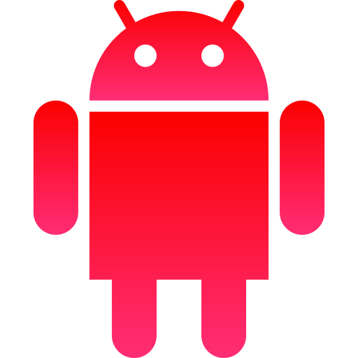 android, corporate, logo, media, robot, social icon